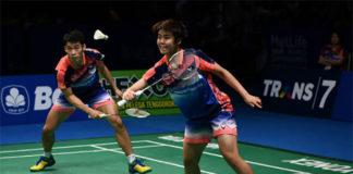 Chan Peng Soon/Peck Yen Wei surprise badminton fans with an impressive run at Indonesia Open. (photo: AP)