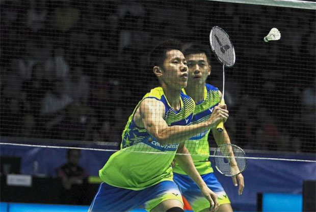 Goh V Shem/Tan Wee Kiong couldn't quite resurrect the breathtaking form that saw them won the silver medal at Rio Olympic. (photo: Bernama)