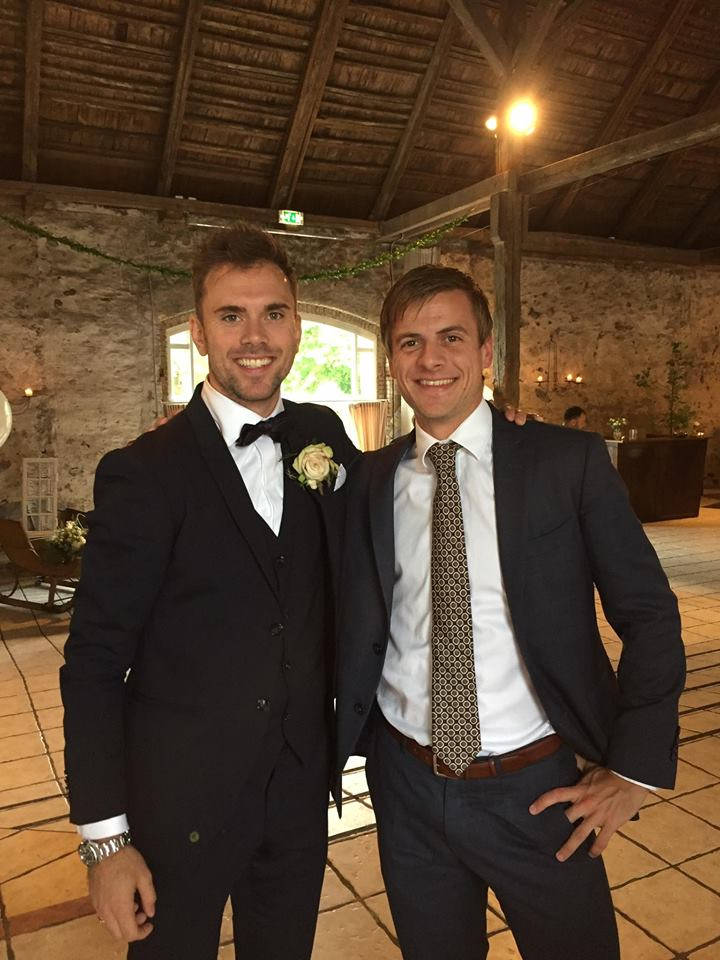 Jan O Jorgensen and Hans-Kristian Vittinghus. (photo: Hans-Kristian Vittinghus's Facebook)