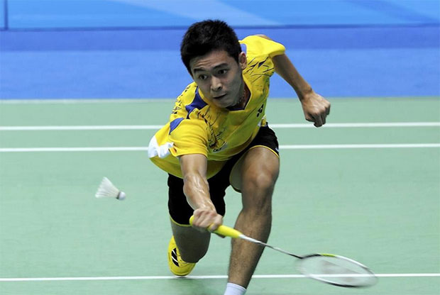 Cheam June Wei shines at Malaysian International Series. (photo: AP)