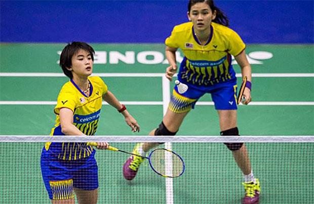 Vivian Hoo-Woon Khe Wei advance to quarterfinals at New Zealand Open. (photo: AP)