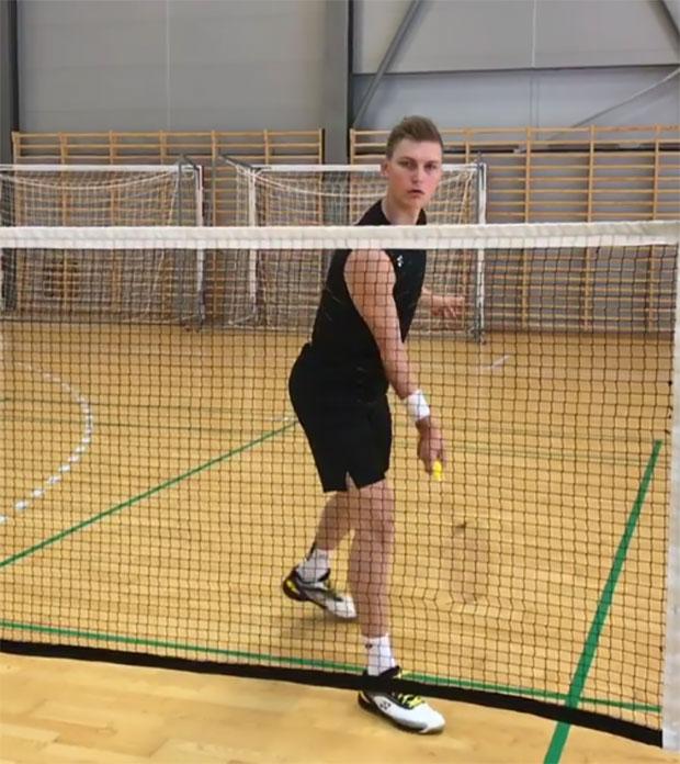 Viktor Axelsen prepares for BWF World Championship. (Viktor Axelsen's Instagram)
