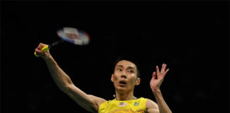 Let's go Lee Chong Wei! (photo: AP)