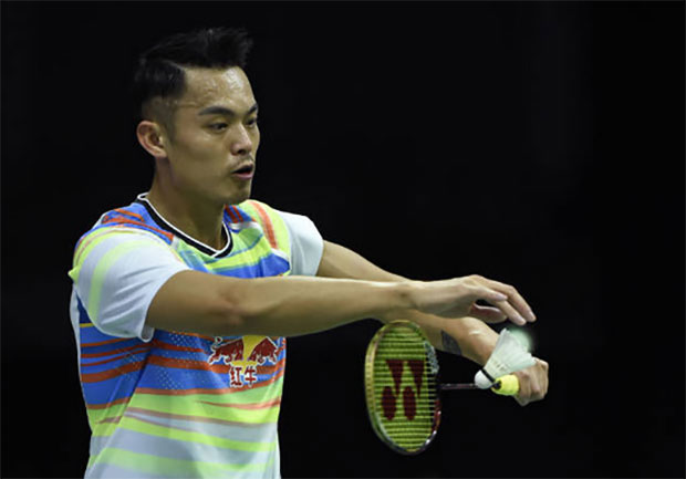 Lin Dan makes the 2017 World Championships second round.