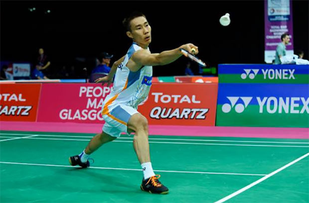 Clearly there's something wrong in Lee Chong Wei's prepartion for World Championships. (photo: AP)