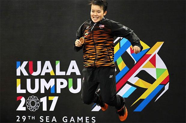 Goh Jin Wei to sit for the SPM (Sijil Pelajaran Malaysia) exam after SEA Games.