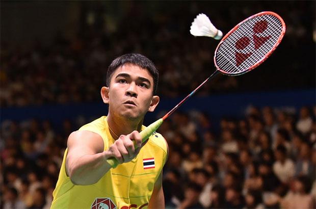 Khosit Phetpradab wins the 2017 Vietnam Open men's singles title. (photo: Getty)