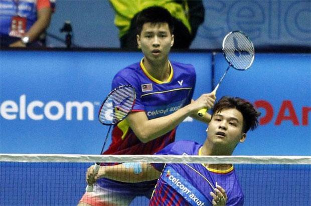 Ong Yew Sin/Teo Ee Yi stun Marcus Ellis/Chris Langridge to get into Korea Open 2nd round. (photo: Bernama)