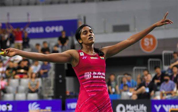 The battles of P.V Sindhu and Nozomi Okuhara are becoming the female version of Lee Chong Wei against Lin Dan. (photo: AP)