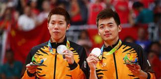 Goh V Shem/Tan Wee Kiong end doubles partnership. (photo: AP)