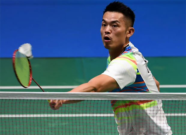 Lin Dan cruises into second round of Japan Open. (photo: AP)