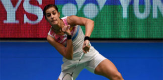 Carolina Marin reaches the 2017 Japan Open final. (photo: AP)