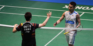 Lee Chong Wei's rediscovered form will be put to the test when he takes on Viktor Axelsen in Japan Open final. (photo: AP)