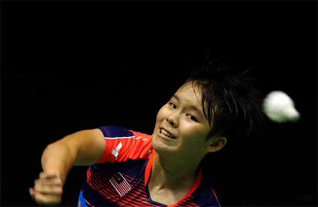 Goh Jin Wei looks fit and strong at the 2017 world junior championship. (photo: AP)