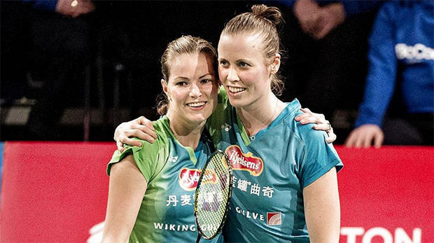 It takes a tremendous amount of courage for Kamilla Rytter Juhl and Christinna Pedersen to come out. (photo: AP)