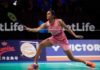 P.V. Sindhu is out of the 2017 Denmark Open. (photo: AP)