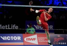 Viktor Axelsen continues at top of BWF rankings. (photo: AP)