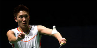 Kento Momota is slowly climbing the BWF rankings. (photo: AP)