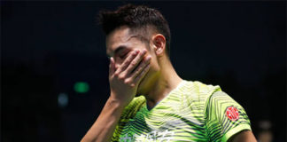 Looking forward to more actions from Lin Dan at next week's Hong Kong Open. (photo: AP)