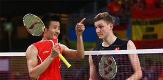 Viktor Axelsen and Chen Long to face off at the 2017 China Open final. (photo: AFP)