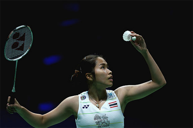 Ratchanok Intanon faces an uphill battle against P.V. Sindhu in Hong-Kong semis. (photo: AP)