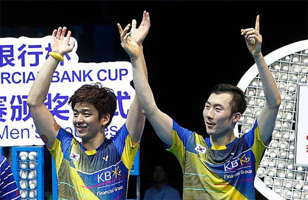 Lee Yong-Dae/Yoo Yeon Seong may be eyeing a shot at the 2020 Tokyo Olympics. (photo: AP)