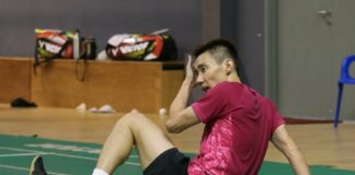 Lee Chong Wei requests some time off from the packed 2018 calendar. (photo: Bernama)