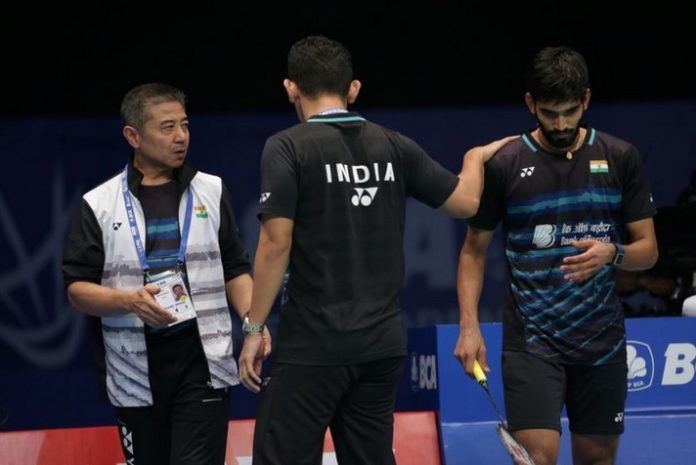Mulyo Handoyo (left) to part ways with Badminton Authority of India (BAI) after PBL 2018. (photo: AP)
