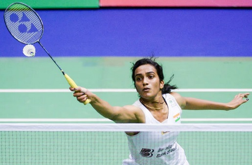 PV Sindhu wins a thrilling three-game match against Zhang Beiwen in the 2017-18 PBL. (photo: AP)