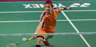 World No 1 Tai Tzu Ying beats Rasika Raje of Hyderabad Hunters to put Ahmedabad Smash Masters 2-1 ahead on Friday. (photo: AP)