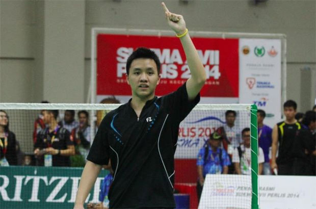 Why do we need Lee Chong Wei for the Thomas Cup qualifying? Let Zulfadli Zulkiffli play! (photo: AP)