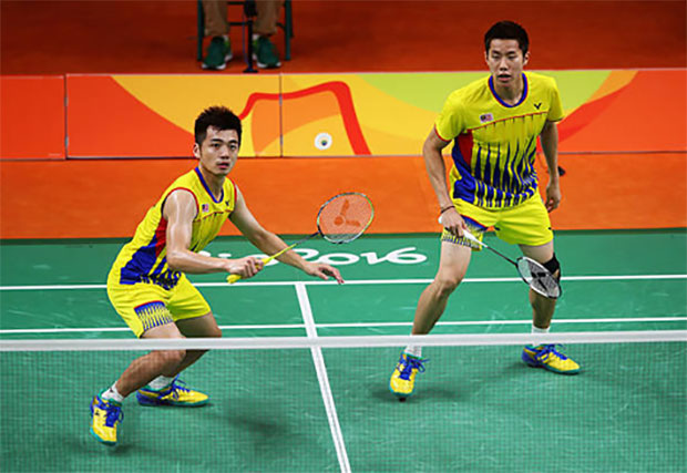 Goh V Shem/Tan Wee Kiong and Lee Chong Wei will spearhead Malaysia's challenge at the Badminton Asia Team Championships in Alor Setar, Malaysia. (photo: AP)