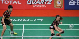 Chan Peng Soon/Goh Liu Ying kick off the 2018 Thailand Masters in auspicious fashion.