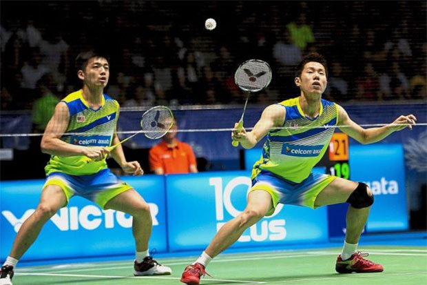 Goh V Shem/Tan Wee Kiong show positive signs of getting back to their old forms. (photo: AP)