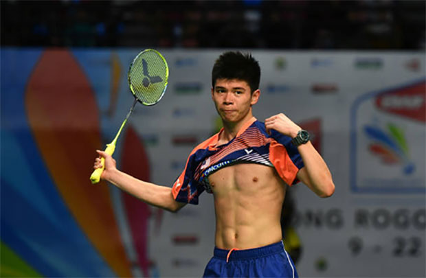 Leong Jun Hao is looking for breakthrough at the senior level. (photo: AP)