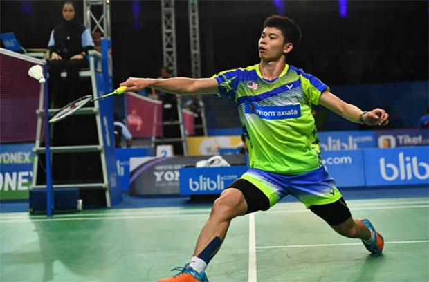 Leong Jun Hao is on a strong run at Thailand Masters this week. (photo: Bernama)