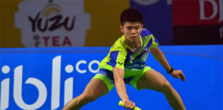 Leong Jun Hao is a young player with a lot of potential. (photo: AP)
