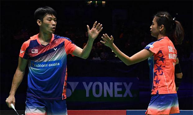 Chan Peng Soon/Goh Liu Ying breeze into Malaysian Masters second round. (photo: AP)