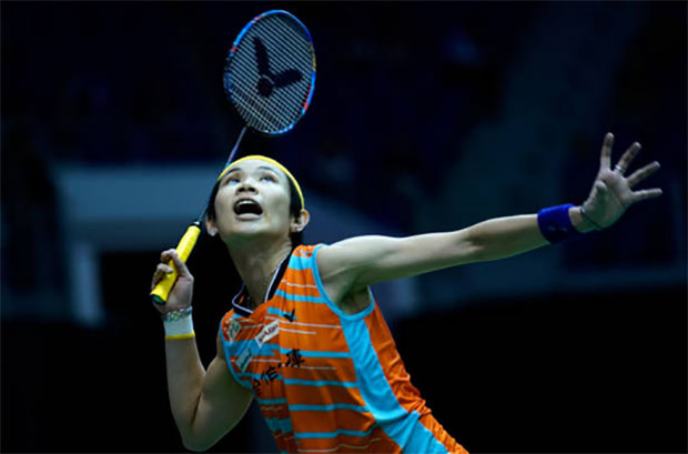 Tai Tzu Ying's big heart helps her stand tall against Carolina Marin in the 2018 Malaysia Masters semi-finals. (photo: AP)
