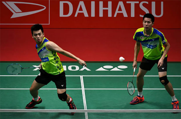 Malaysian fans have high expectations on Goh V Shem/Tan Wee Kiong at Indonesia Masters. (photo: AP)