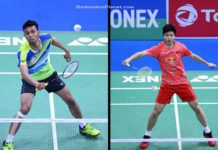 Iskandar Zulkarnain and Shi Yuqi put on a good show in the 2018 India Open semi-finals.