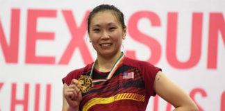 Congratulations to Zhang Beiwen for winning the 2018 India Open. (photo: AP)