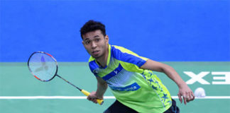 Iskandar Zulkarnain looking to continue strong start at the 2018 Badminton Asia Team Championships. (photo: AP)