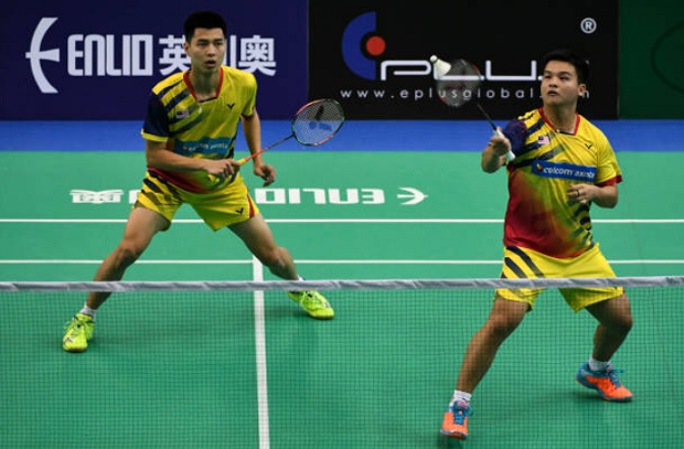 Ong Yew Sin/Teo Ee Yi are going to face tough challenge against men's pair from Taiwan on Thursday. (photo: AP)