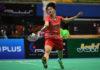 World No. 8 Chen Yufei to face World No. 6 Sung Ji Hyun in the 2018 BATC women's team semi-finals. (photo: AP)