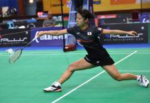 Japan's Nozomi Okuhara to play He Bingjiao of China in the BATC women's team final. (photo: AP)