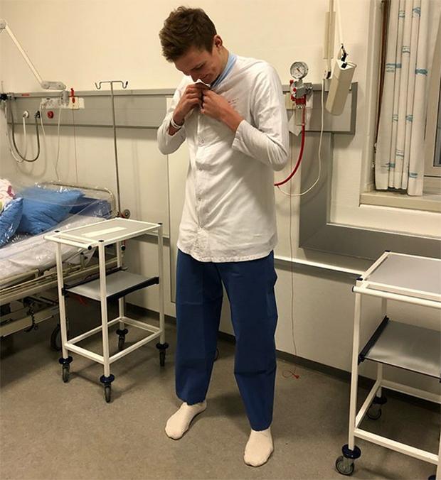 Wish Viktor Axelsen a speedy recovery. (photo: Viktor Axelsen's Instagram)