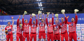 Congratulations to Denmark for winning their seventh European men's team title. (photo: Badminton Europe)