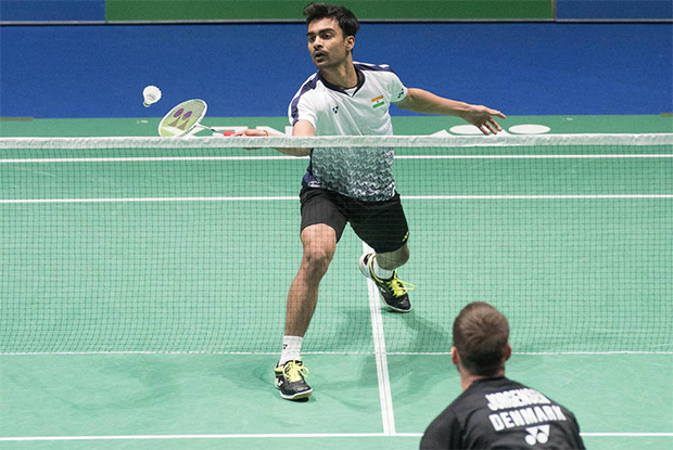 Sameer Verma beats Jan Jorgensen to win the 2018 Swiss Open. (photo: SwissOpen)