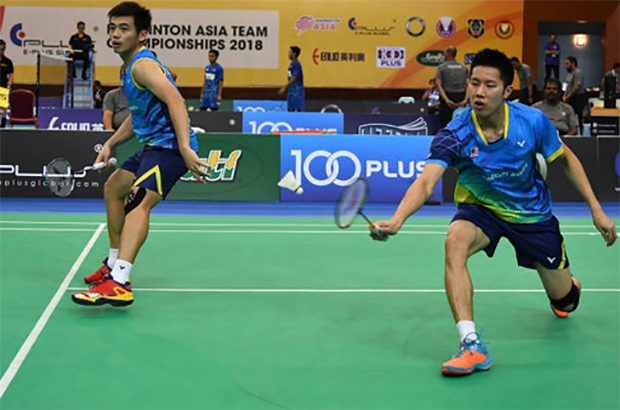 Goh V Shem/Tan Wee Kiong enter German Open second round. (photo: AP)